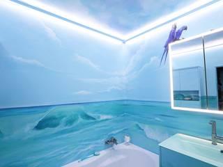 Tropical style bathrooms by Moreno Licht mit Effekt - Lichtplaner Tropical