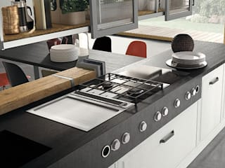 Marchi Cucine - Dialma Brown MX Built-in kitchens Solid Wood Grey
