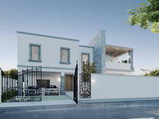 Casa TXS. Casas modernas de Estudio AF Moderno