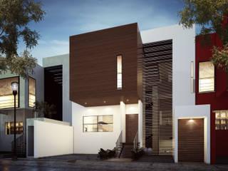 Casa / estudio Juriquilla. de Estudio AF Moderno