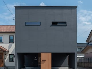 家山真建築研究室 Makoto Ieyama Architect Office Detached home Black