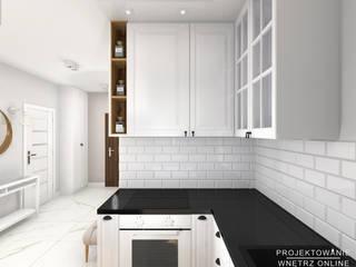 Mała kuchnia: styl , w kategorii Kuchnia zaprojektowany przez Projektowanie Wnętrz Online