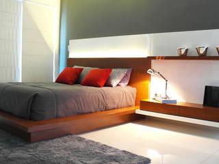 Corporación Siprisma S.A.C ห้องนอนเตียงนอนและหัวเตียง