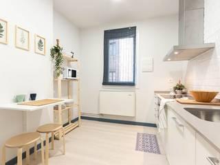 Cocina después:  de estilo  de Home Staging Bizkaia