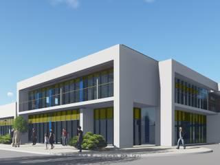 Административное здание с магазином: Офисы и магазины в . Автор – Ar-Deko