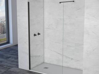 SHOWERBOX, MATERIAIS DE CONSTRUÇÃO LDA BathroomBathtubs & showers Glass Black
