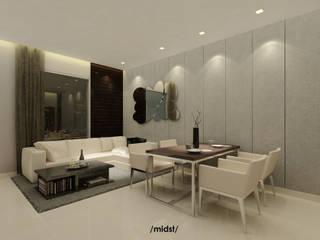 M I D S T Interiors Modern living room