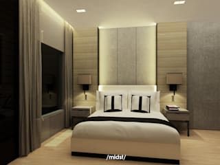 M I D S T Interiors Modern style bedroom