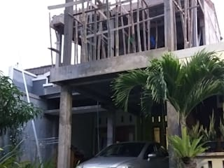 Progress Kontruksi:  Rumah tinggal  by Arsan Architect