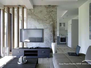 Modern living room by ARCHMY Mimarlık Modern