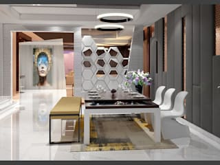 interiors:  Kitchen by Goswami Decor
