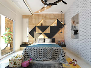 Modern Bedroom by Goswami Decor Modern