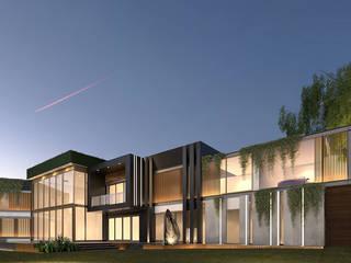BOSQUE REAL VILLA - CDMX de ADS arquitectos Moderno