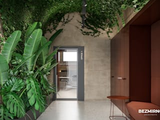 Minimalist offices & stores by Bezmirno Minimalist