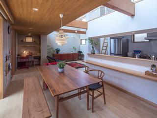 陽まわりの家 オリジナルデザインの キッチン の ATELIER N オリジナル