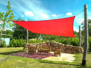 Pina GmbH - Sonnensegel Design Giardino moderno Rosso