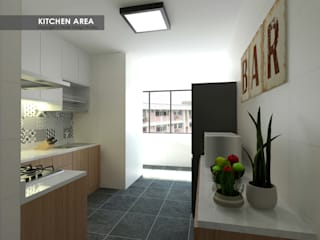 Swish Design Works Cucina in stile asiatico