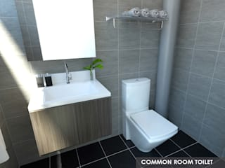 Swish Design Works Bagno in stile asiatico