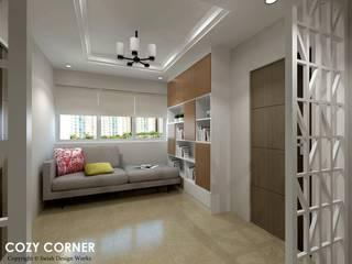 Scandinavian style corridor, hallway& stairs by Swish Design Works Scandinavian
