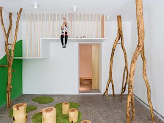 Kita Drachenhöhle - Berlin Moderne Schulen von baukind Architekten Modern