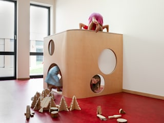 Forschungs- und Lehrkindergarten - Leipzig Moderne Schulen von baukind Architekten Modern