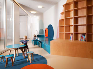 Kita Hisa - Berlin Moderne Schulen von baukind Architekten Modern