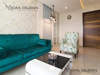 Mr. Vandan Somani:  Living room by Midas Dezign
