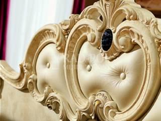 Sypialnia Barocco Ivory od Rad-Pol Meble Tkaniny Eklektyczny