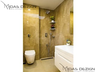 Mr. Atin Tibrewala:  Bathroom by Midas Dezign
