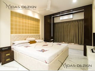 Mr. Atin Tibrewala:  Bedroom by Midas Dezign