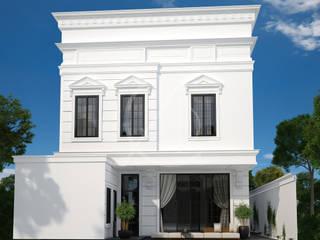 Neoclassical Saudi Arabian House Design by Comelite Architecture, Structure and Interior Design Classic