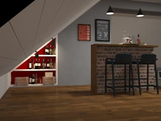 Industrial style kitchen by Альберт Галимов Industrial