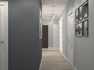 Scandinavian style corridor, hallway& stairs by Альберт Галимов Scandinavian