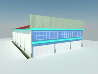 Warehouse & Office Kalimantan:   by SPADE Studio Indonesia