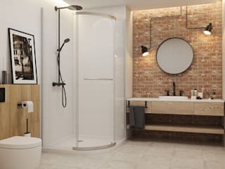 Bathroom by Ceramika Paradyz, Industrial