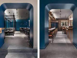 Akeno Restaurant Moderne Gastronomie von DITTEL ARCHITEKTEN GMBH Modern