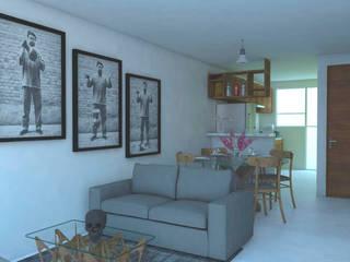 Creer y Crear. Arquitectura/Diseño/Construcción Salas de estar minimalistas