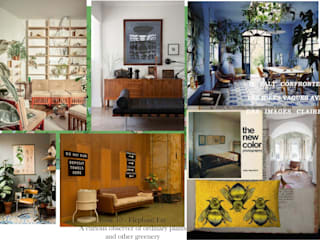 Restauración living-comedor Kevin Odtt Livings de estilo colonial Madera Beige