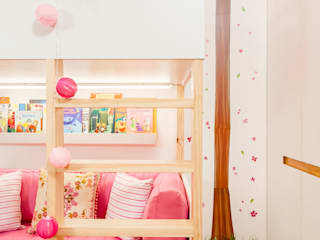 Girls Bedroom by Aline Frota Interiores + Retail Design, Modern