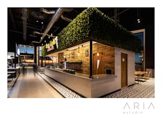Aria Estudio Commercial Spaces Wood effect