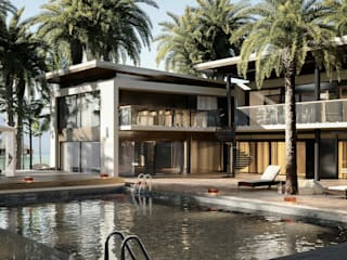 Habitacional Casas modernas de FG-Arquitectos Moderno