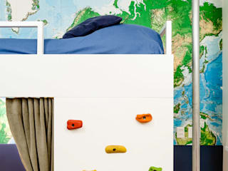 Boys Bedroom by Aline Frota Interiores + Retail Design, Modern