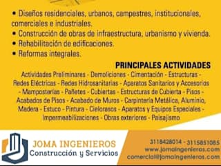 Joma Ingenieros : Casas unifamiliares de estilo  por Joma Ingenieros Sas