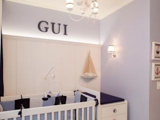 Baby room by Aline Frota Interiores + Retail Design, Modern
