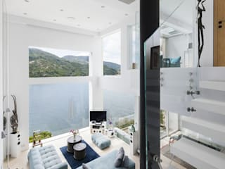 Tai Tam House Modern living room by Original Vision Modern