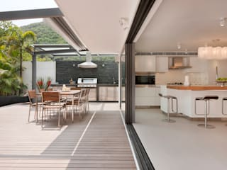 Modern terrace by Original Vision Modern
