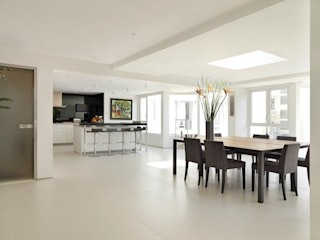 Stanley Penthouse Minimalist dining room by Original Vision Minimalist