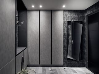Modern corridor, hallway & stairs by 理絲室內設計有限公司 Ris Interior Design Co., Ltd. Modern