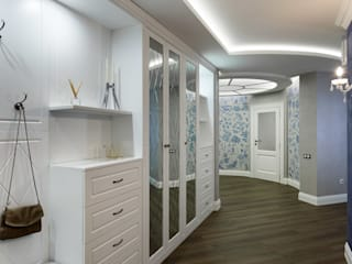 Eclectic corridor, hallway & stairs by GLAZOV design group концептуальная студия дизайна интерьеров Eclectic