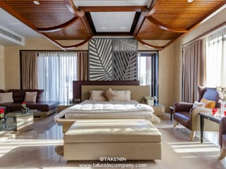 Rewari Residence Modern style bedroom by TakenIn Modern